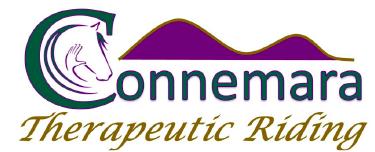 Connemara Therapeutic Riding Logo