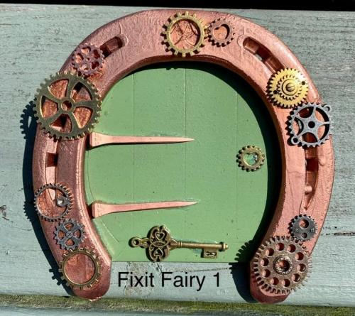 Mr Fix It Fairy Door