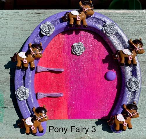 Pony Fairy Door